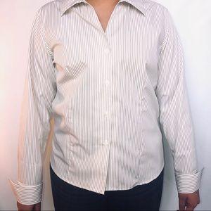 Calvin Klein Button Down Blouse